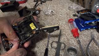 how to dissasemble nikon coolpix AW110