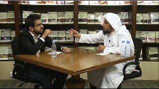 الشيخ المهندس عبدالله العجيري و عمر جبران الغامدي