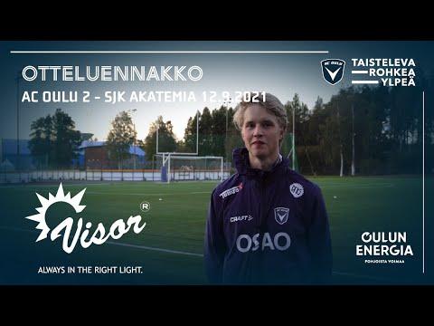 ACOTV: otteluennakko AC Oulu / OLS 2 - SJK Akatemia 12.9.2021