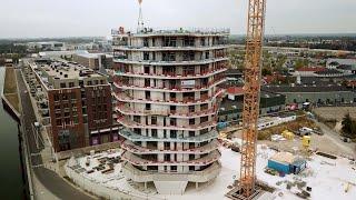 Schöck ontwikkelt verankering voor woontoren Manhattan in Roermond