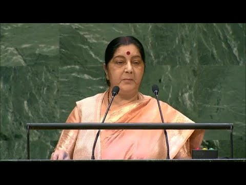 🇮🇳 India - Minister Of External Affairs Addresses General Debate, 73rd Session