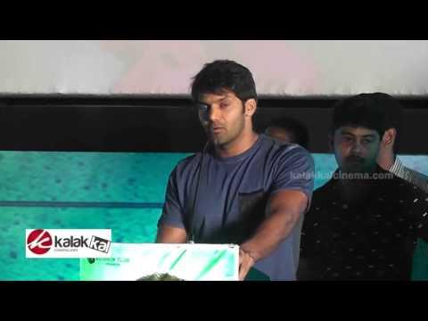 Arya at Inimey Ippadithan Movie Audio Launch