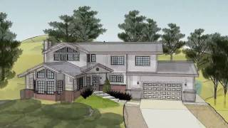 Sketchup 3d House Animation In Hd