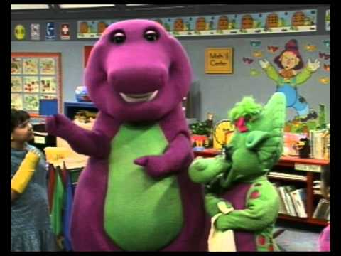Let's Play with Barney in English - Colors & Shapes