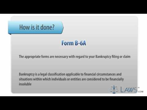 Learn How to Fill the Form B-6 A Schedule A - Real Property