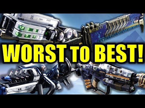 Destiny 2: WORST to BEST Exotic Weapons in Beyond Light!