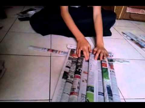 cara membuat keset dari koran ae2b7ed4d5