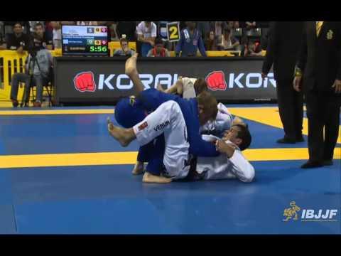 AJ Agazarm v Rodolfo Vieira - 2014 IBJJF Worlds Black Belt Open Weight