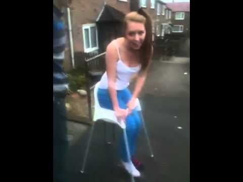 Girl gets stuck in high chair  YouTube