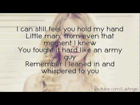 Taylor Swift - Ronan (Lyrics On Screen)