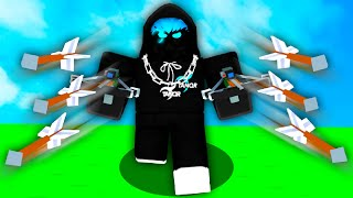the most OVERPOWERED glitch in Roblox Bedwars..