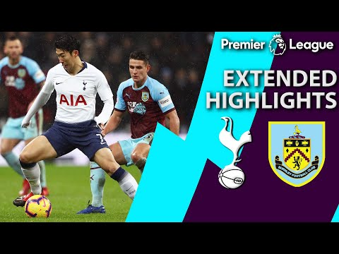 Tottenham v. Burnley | PREMIER LEAGUE EXTENDED HIGHLIGHTS | 12/15/18 | NBC Sports