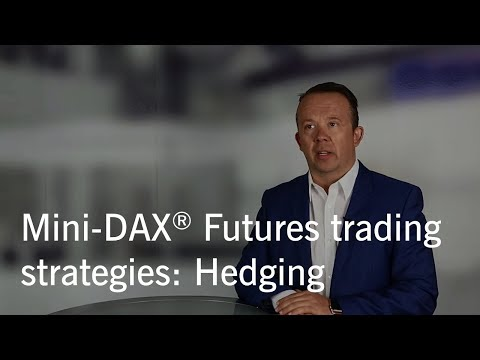 Mini-DAX® Futures trading strategies: Hedging