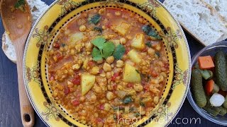 Chickpea Soup Recipe - Armenian Cuisine - Heghineh Cooking Show