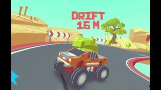 3D MONSTER TRUCK - SKYROADS GAME LEVEL 8-10