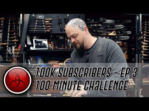 Ben's 100 Minute Kit Guitar Build Challenge - Thanks for hitting 100K Subs! - Part 3