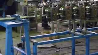 Шляпный профиль(Полуавтоматическая линия для производства двух типов профилей из металла толщиной 2 мм. www.stanok74.ru., 2012-10-31T14:42:50.000Z)