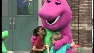 Barney I Love you season 2 version (with Baby Bop on the watch)