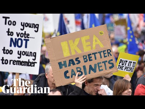 People's vote Brexit rally draws 1 million marchers