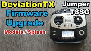 Jumper T8SG DeviationTX Firmware upgrade Multi-Protocol thumbnail