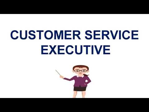 """Customer service EXECUTIVE """"THE FOCUS POINT"""" FOR YOU"""