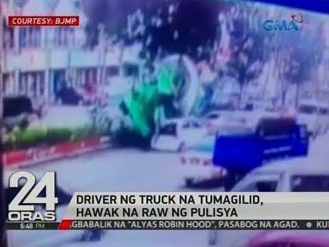 24 Oras: Aksidente sa Mindanao Avenue, nakuhanan ng CCTV