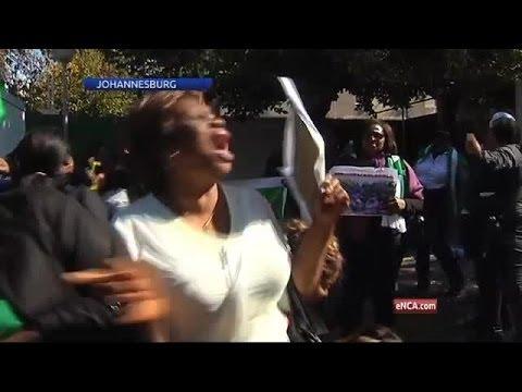Johannesburg based Nigerian women join #Bringbackourgirls