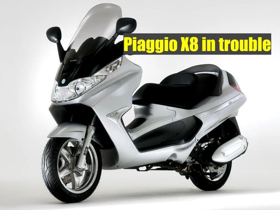 piaggio x8 250ie poor idling youtube. Black Bedroom Furniture Sets. Home Design Ideas