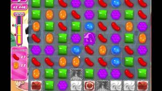Candy Crush Saga level 689 - no boosters used!