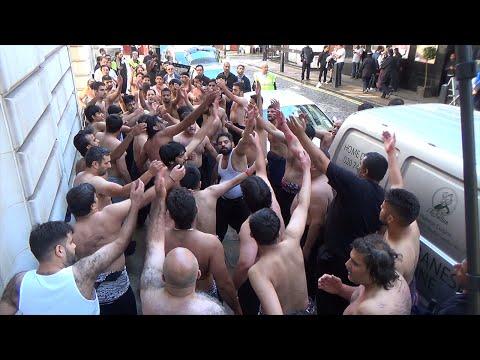 4th Annual Matami Protest   13th Shawwal 1435H   Saudi Embassy (London, UK)