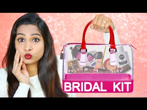 Indian Bridal Makeup Kit - The Ultimate Guide | ShrutiArjunA