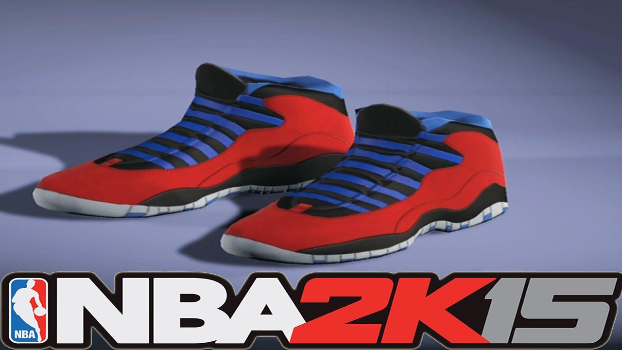 get cheap 48e1f 33bf7 #NBA2K15 Next Gen Shoes - Air Jordan 10 Chris Paul PE