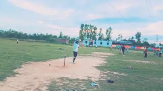 Batting practice by Saurabh