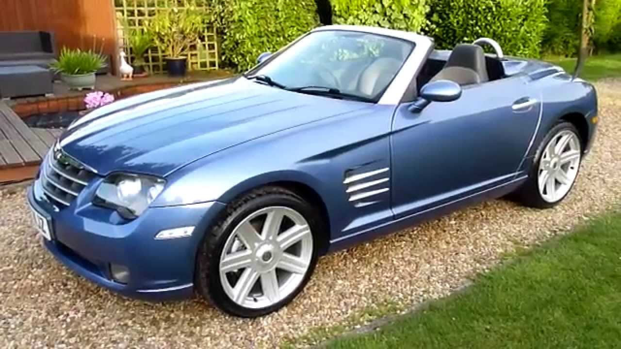 video review of 2007 chrysler crossfire convertible for sale sdsc specialist cars cambridge. Black Bedroom Furniture Sets. Home Design Ideas