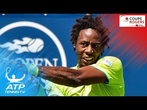 Gael Monfils EPIC match point saves & win vs Nishikori | Coupe Rogers Montreal 2017