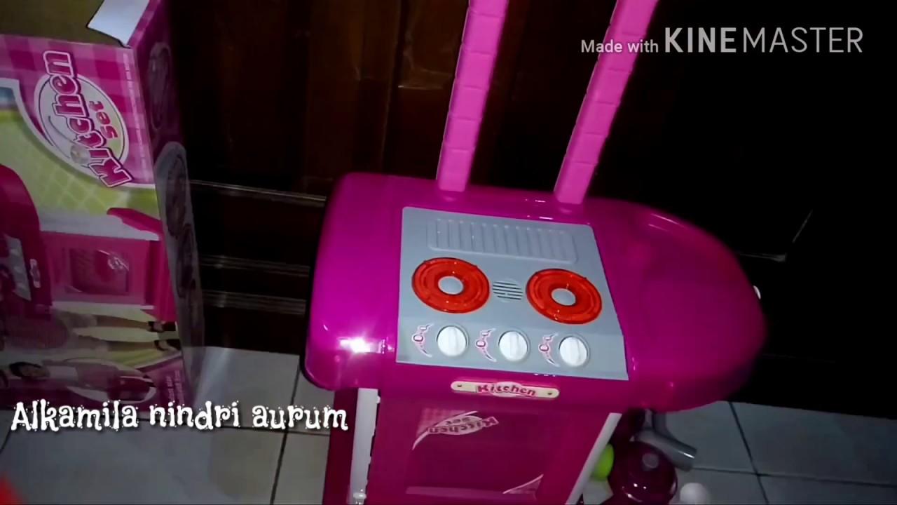 Review Mainan Anak Anak Kitchen Set Review Tomindo Kitchen Set