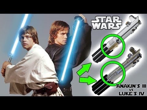 Why Luke and Anakin's Lightsabers are DIFFERENT after Revenge of the Sith - Star Wars Explained (Th)