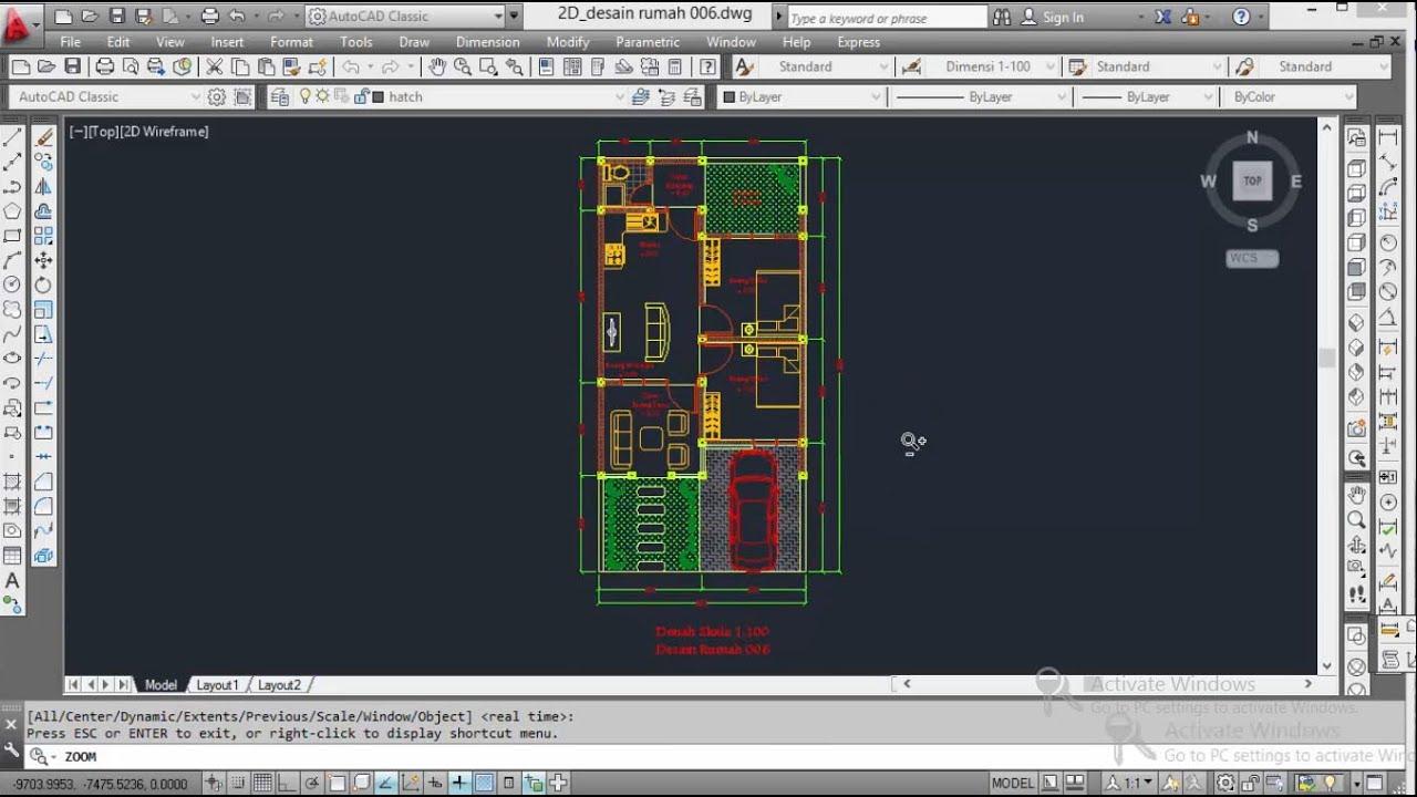 520+ Foto Download File Desain Rumah Autocad Gratis Terbaik Unduh