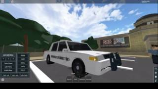 Firestone V2 Department of Corrections Crown Victoria