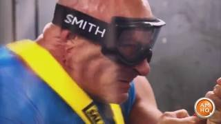 Jim Cantore Stands Up to Category 5 Wind Speeds