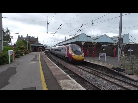 Penrith Railway Station - featuring LMS Royal Scot 46115 Scots Guardsman