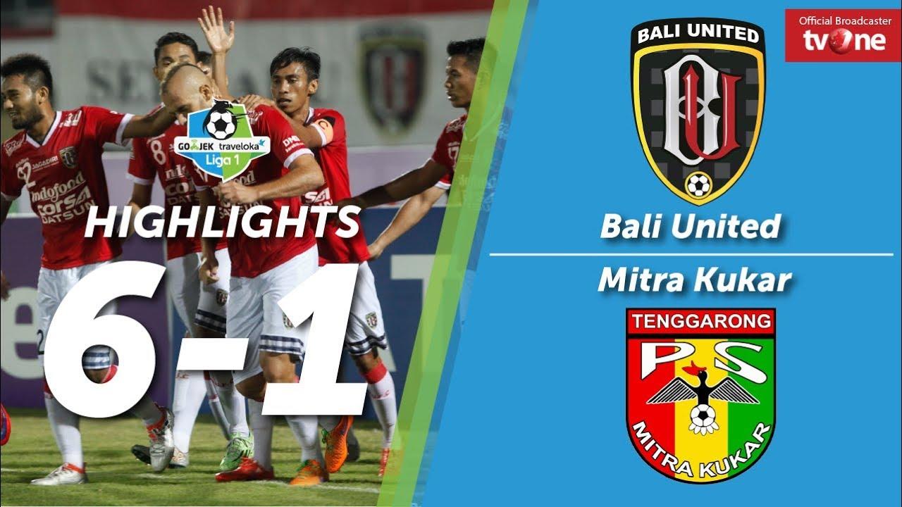 bali united vs mitra kukar 6 1 all goals highlights