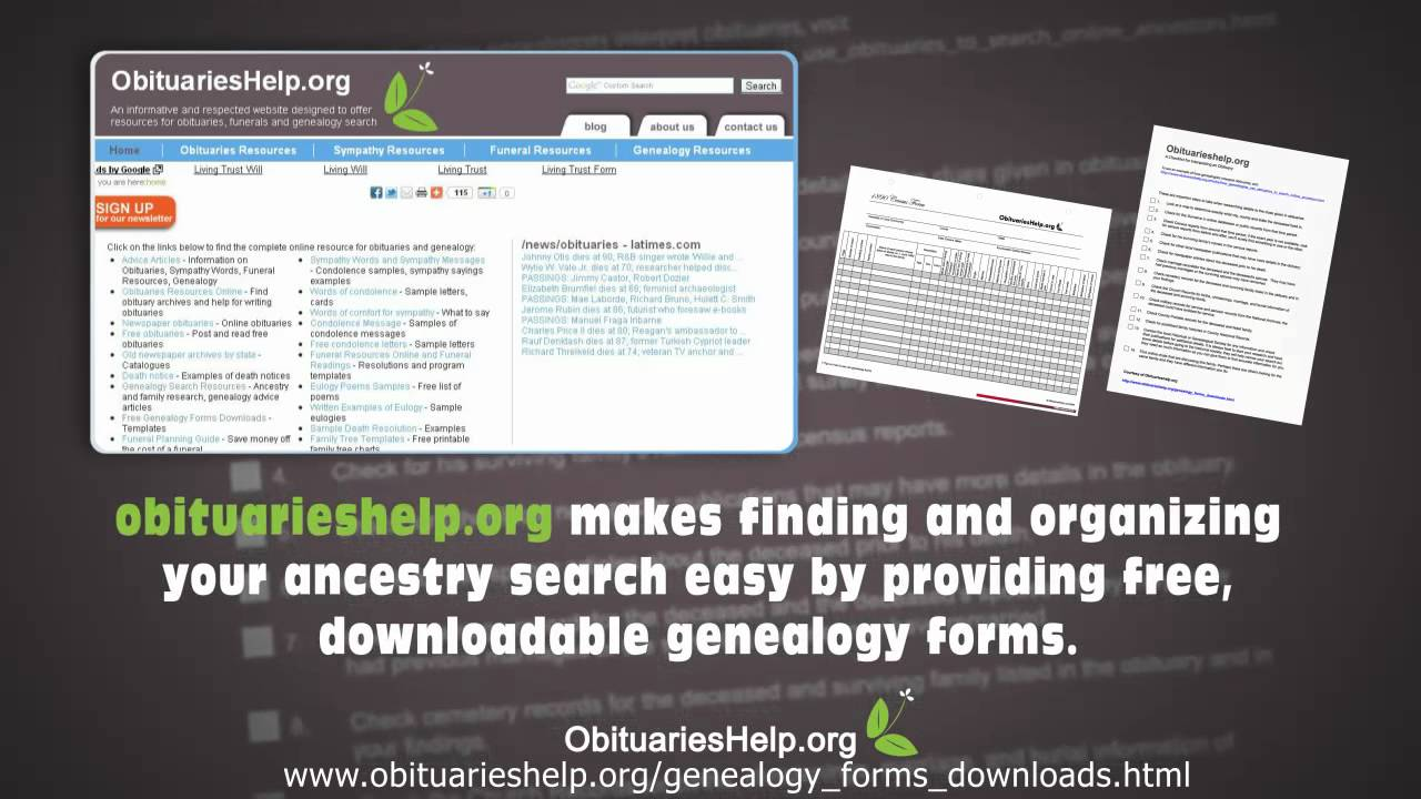 genealogy forms download over 40 different forms and templates for free