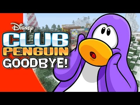 GOODBYE CLUB PENGUIN! | Club Penguin in Minecraft