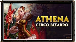 "SMITE BRASIL - CERCO ""Athena e seu dano bizarro!"""