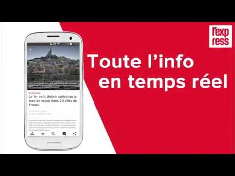 Présentation de l'application L'Express-Android