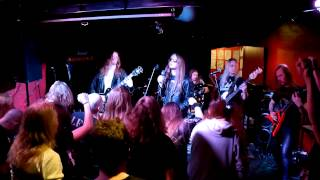 leather rebels plays judas priest riding on the wind prkl club hellsinki 07 12 2012