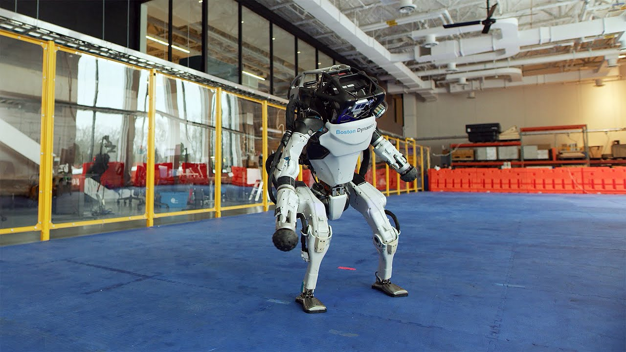 Boston Dynamics - Do You Love Me?