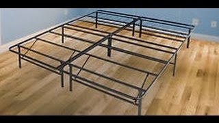 Best Price Mattress New Innovated Box Spring Metal Bed Frame, Queen  Best Mattress Sets