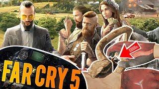ME MUERDE UN OSO, UNA SERPIENTE Y UN TEJÓN . Far Cry 5